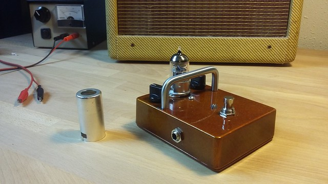 Photo:12AU7 Tube/Valve Overdrive Pedal By Tim Patterson