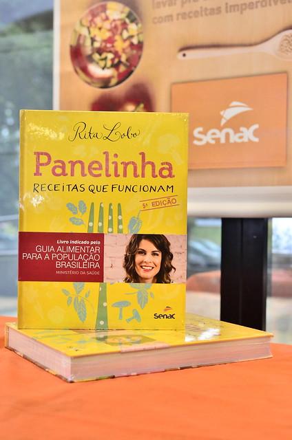 Alunos participam de projeto para reproduzir receitas da Editora Senac-DF