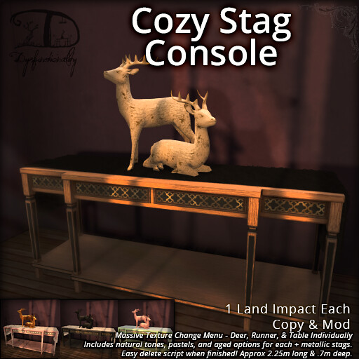 Cozy Stag Console for FLF!