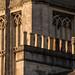 Bath Abbey with chimneypots
