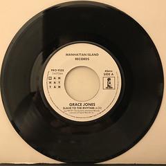 GRACE JONES:SLAVE TO THE RHYTHM(RECORD SIDE-A)