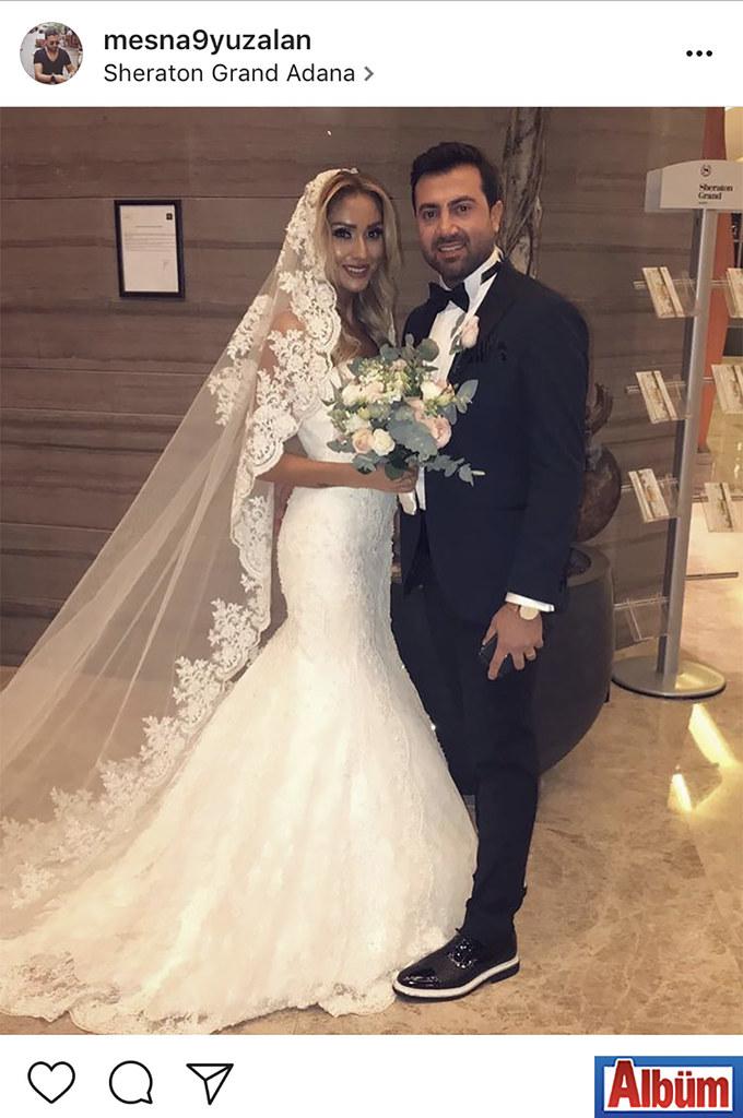 Mezze Grill Ocakbaşı'nın sahibi Mesna Yüzalan, nişanlısı Derman Üstün ile Sheraton Grand Adana'da dünya evine girdi.