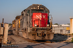 SSW 9642   EMD GP60   UP Brinkley Subdivision