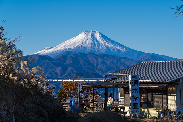 富士山@陣馬山
