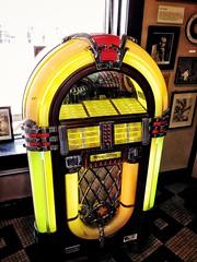 Jukebox at Sun Studio in Memphis.