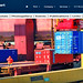 Greece, Macedonia, Aegean Sea, Thessaloniki Port, container terminal & management information system by Macedonia Travel & News