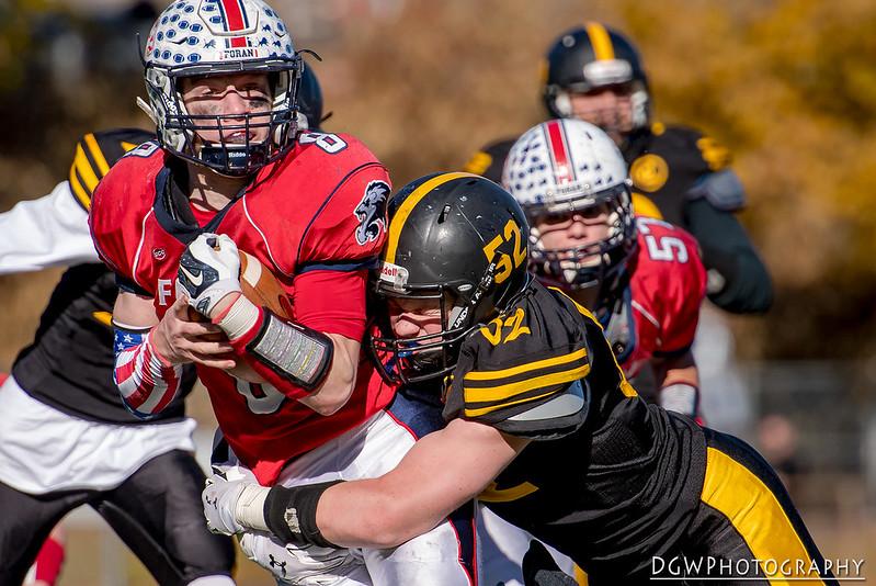 Jonathan Law vs. Foran high - High School Football