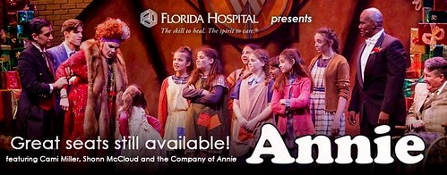"""Annie"" at the Garden Theatre in Winter Garden"