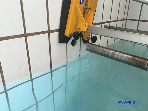 Onderwater boren of net op de waterlijn