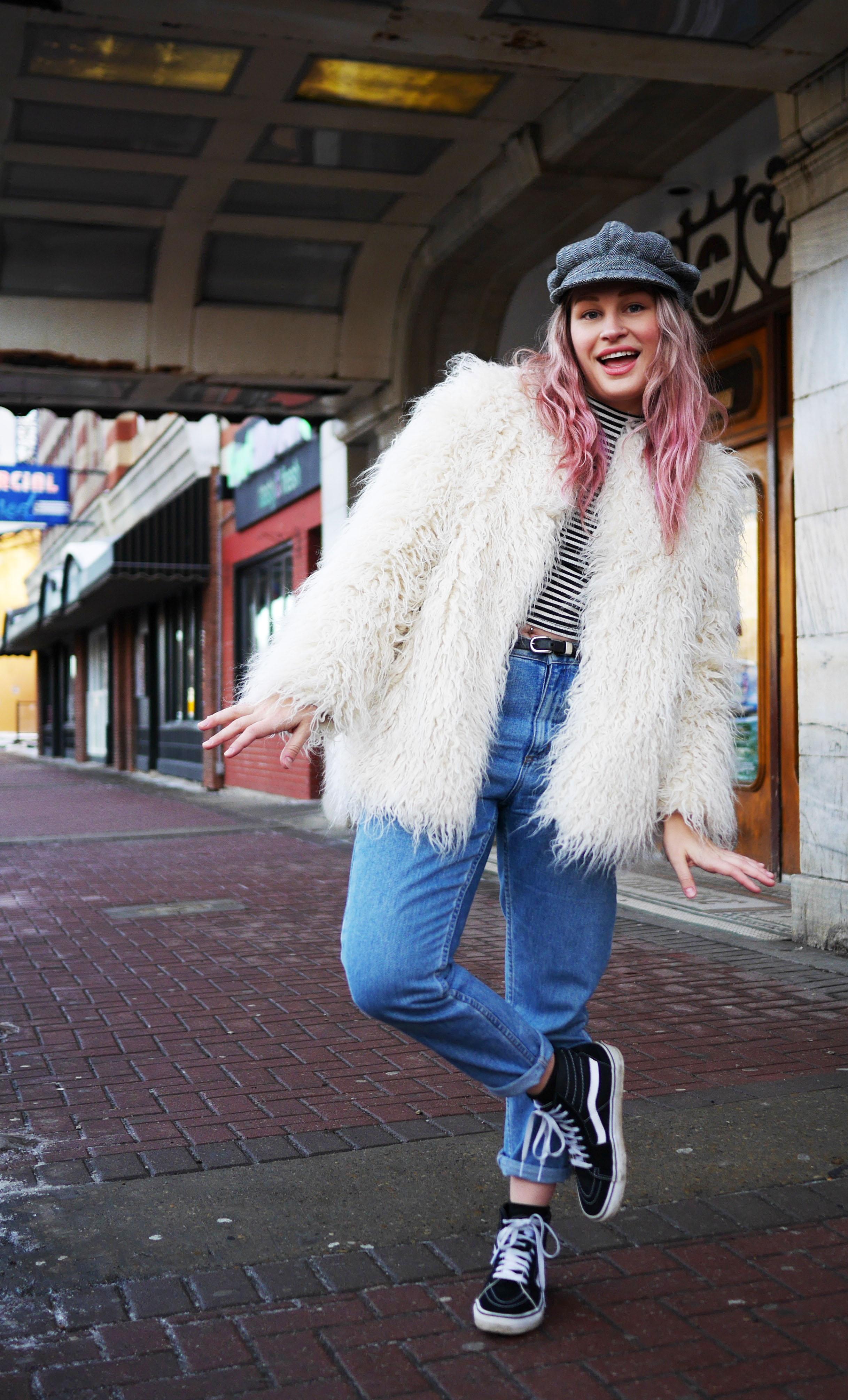 pink-hair-white-yeti-coat-4