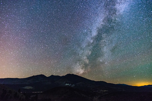 Milky Way over the San Francisco Peaks