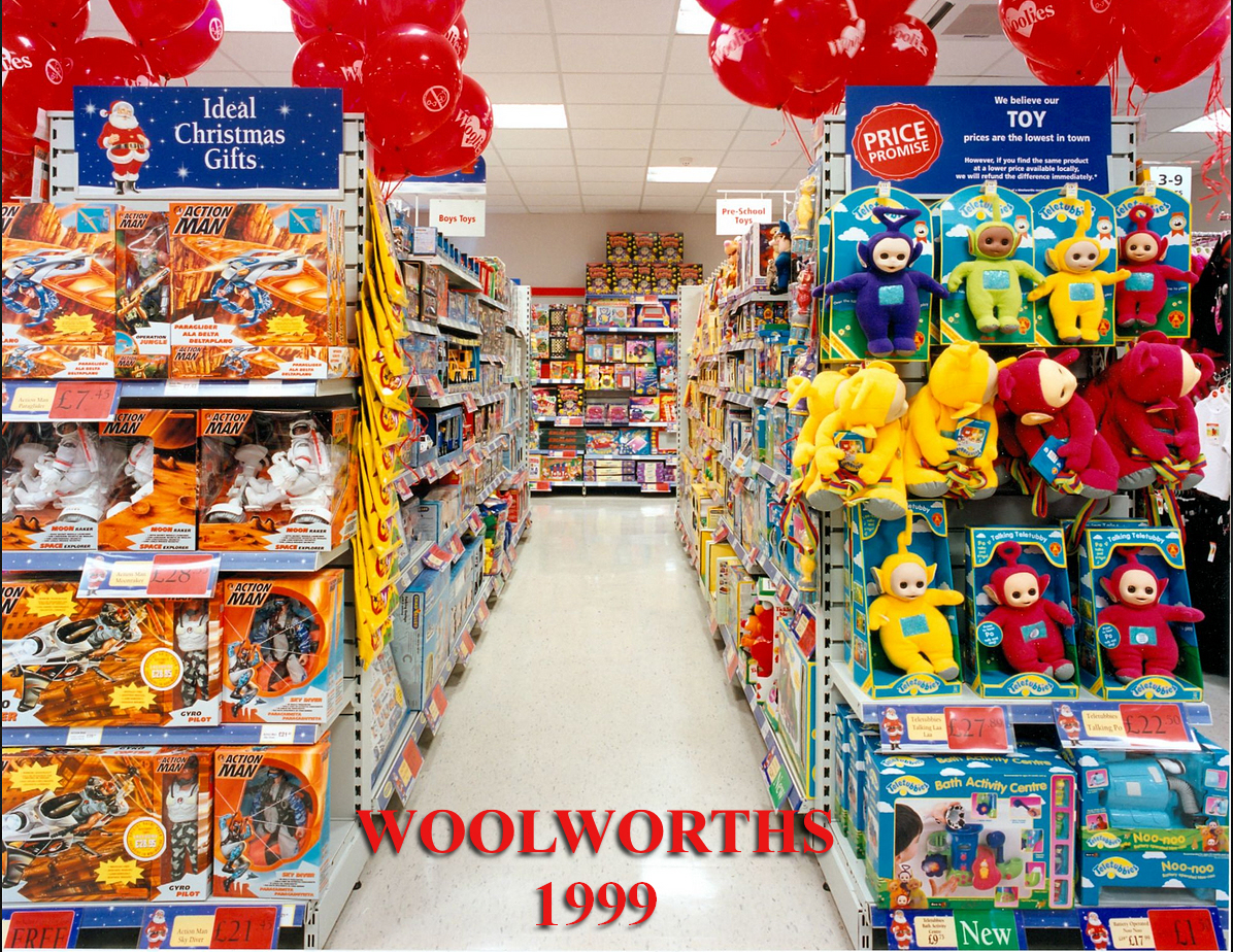 Woolworths Display of Action Man 1999.. 38167024336_396bd99a67_o