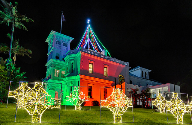 Government House lights