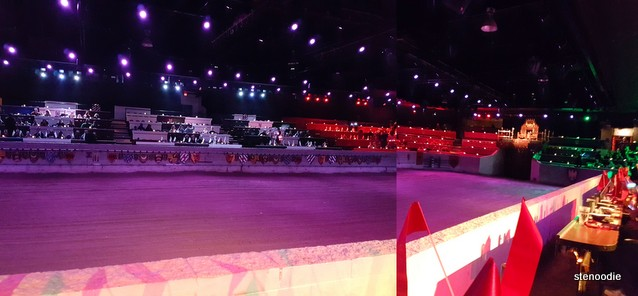 Medieval Times Dinner & Tournament stage