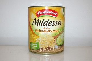 01 - Zutat Sauerkraut / Ingredient sourcrout