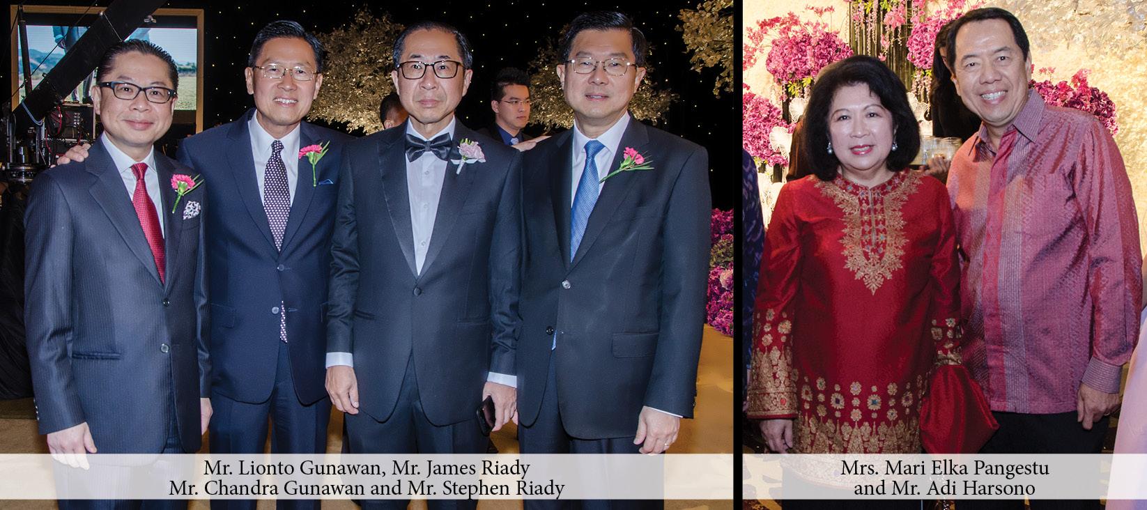 Richard Gunawan and Arlene Chay Joyful Wedding Celebration