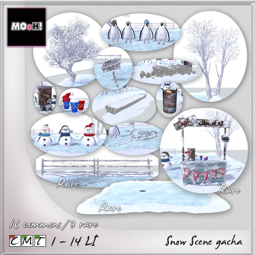 MOoH! Snow scene gacha - TeleportHub.com Live!