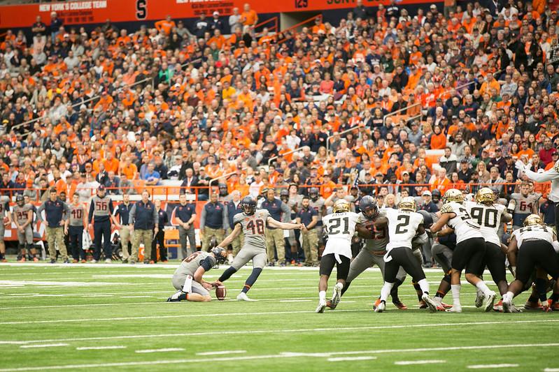 SU Football: Syracuse vs. Wake Forest
