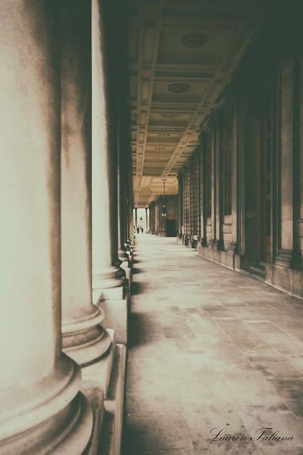 Pillared covered walkway 2 - Creative Edit