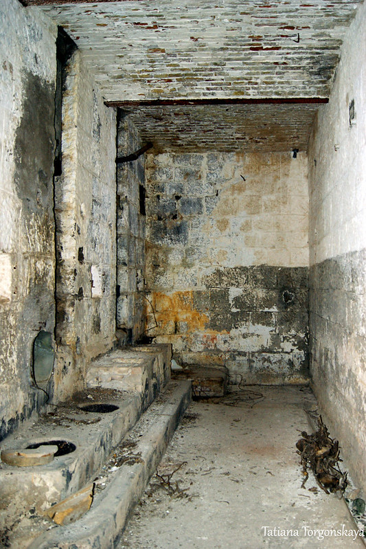 Туалет крепости, 1 этаж