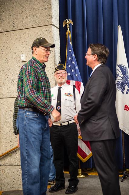 Senator Peters Honors Vietnam Veterans