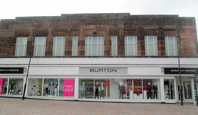 Burton's, Dumfries, Front Aspect
