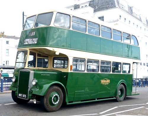 NKT 875 'Maidstone & District No. CH 379. Leyland PD2/12 / Leyland on 'Dennis Basford's railsroadsrunways.blogspot.co.uk'  New in 1951.