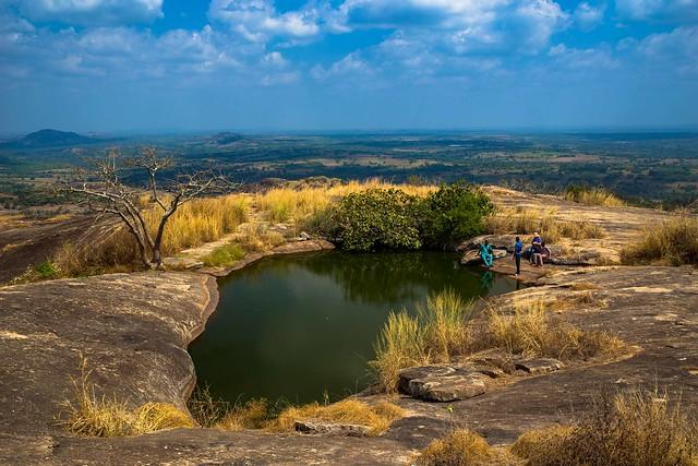 Suspended Lake in Nigeria