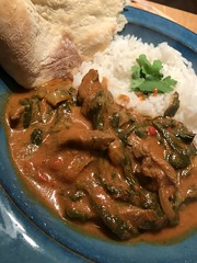 Beef & Spinach Curry