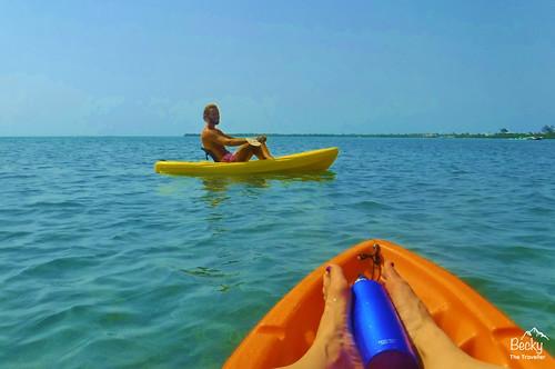 Caye Caulker Belize - watersports on Caye Caulker