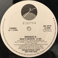 DONALD D.:DON'S GROOVE(LABEL SIDE-A)