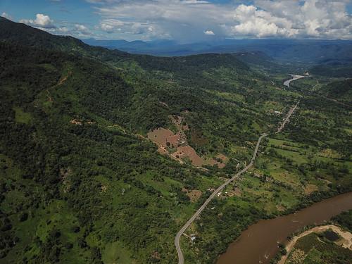 amazonia permatree ecuador valledelasluciernagas zamorachinche tropical permaculture farmlife drone