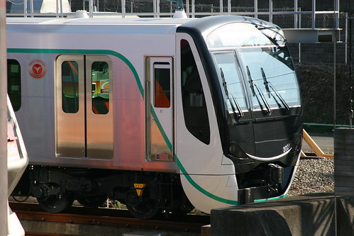 Tokyu 2020 series in Nagatsuta Depot, Yokohama, Kanagawa, Japan /Dec 3, 2017
