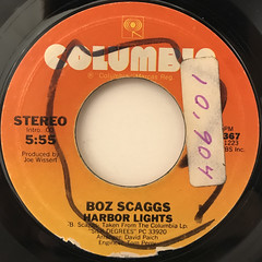 BOZ SCAGGS:LOWDOWN(LABEL SIDE-B)