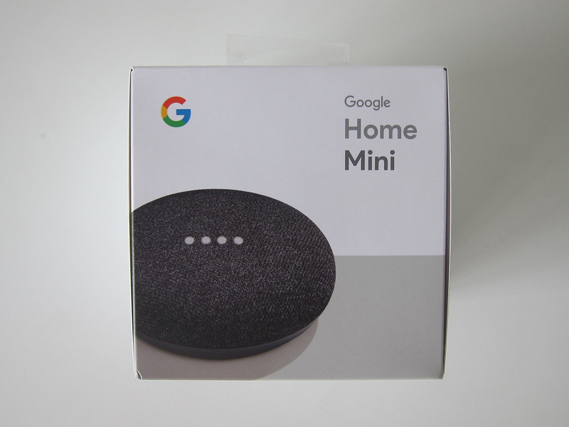 Google Home Mini - Box Front