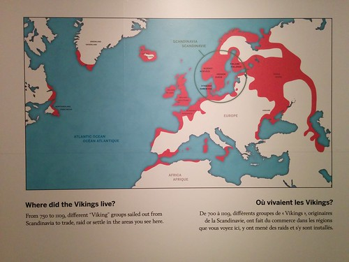 """Where did the Vikings live?"" #toronto #royalontariomuseum #vikingsto #vikings #maps #europe #canada #vinland #latergram"