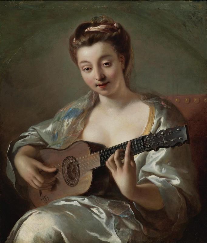 Jean-François de Troy - The Guitar Player
