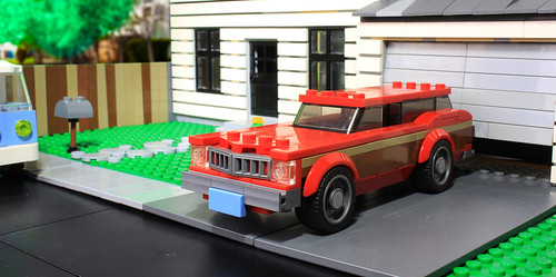 Lego old suburbs