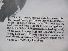 Heart - June 2, 1976