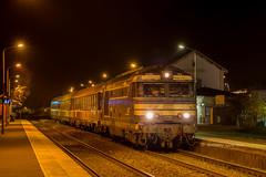 14 novembre 2017 BB 67589 Train 13898 Bordeaux -> La Rochelle St-André-de-Cubzac (33) - Photo of Saint-Genès-de-Fronsac