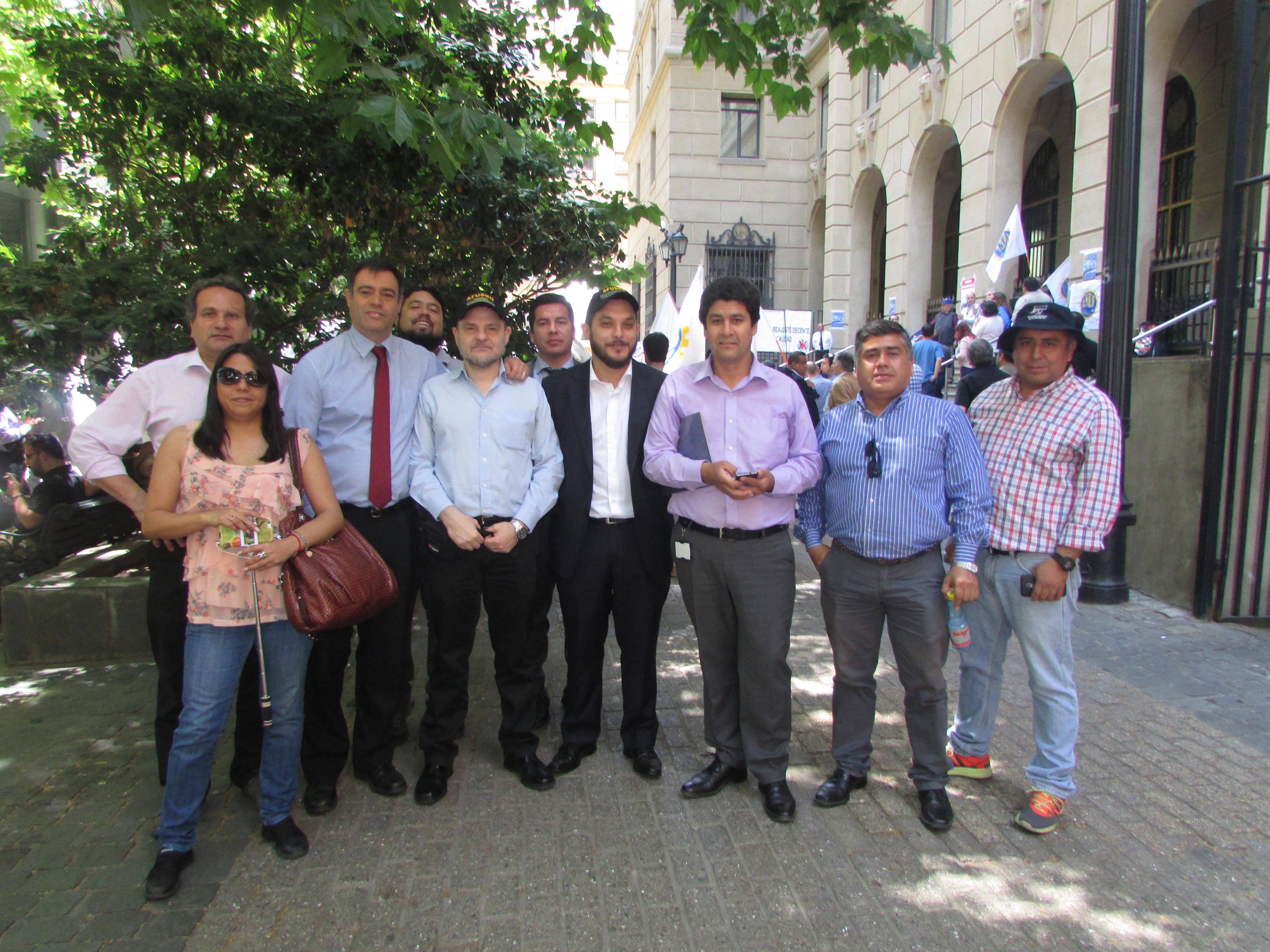AET en Jornada de Protesta MSP-CUT - 14 Noviembre 2017