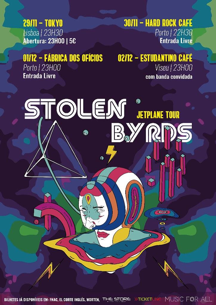 Stolen Byrds - JETPLANE TOUR