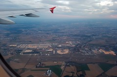 Flughafen Paris CDG nach dem Start und U-Turn - Photo of Laigneville