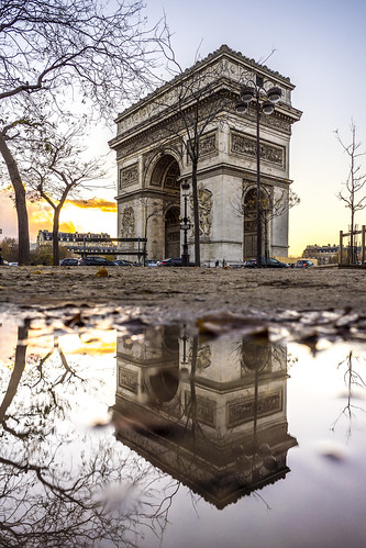 Paris, France - Twice the Arch, double the Triumph
