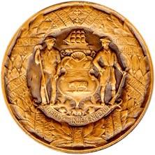 Delaware Tercentenary Medal reverse