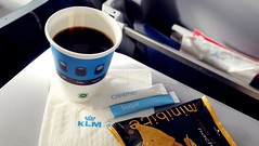 Economy Class In-flight Meal - KLM Royal Dutch