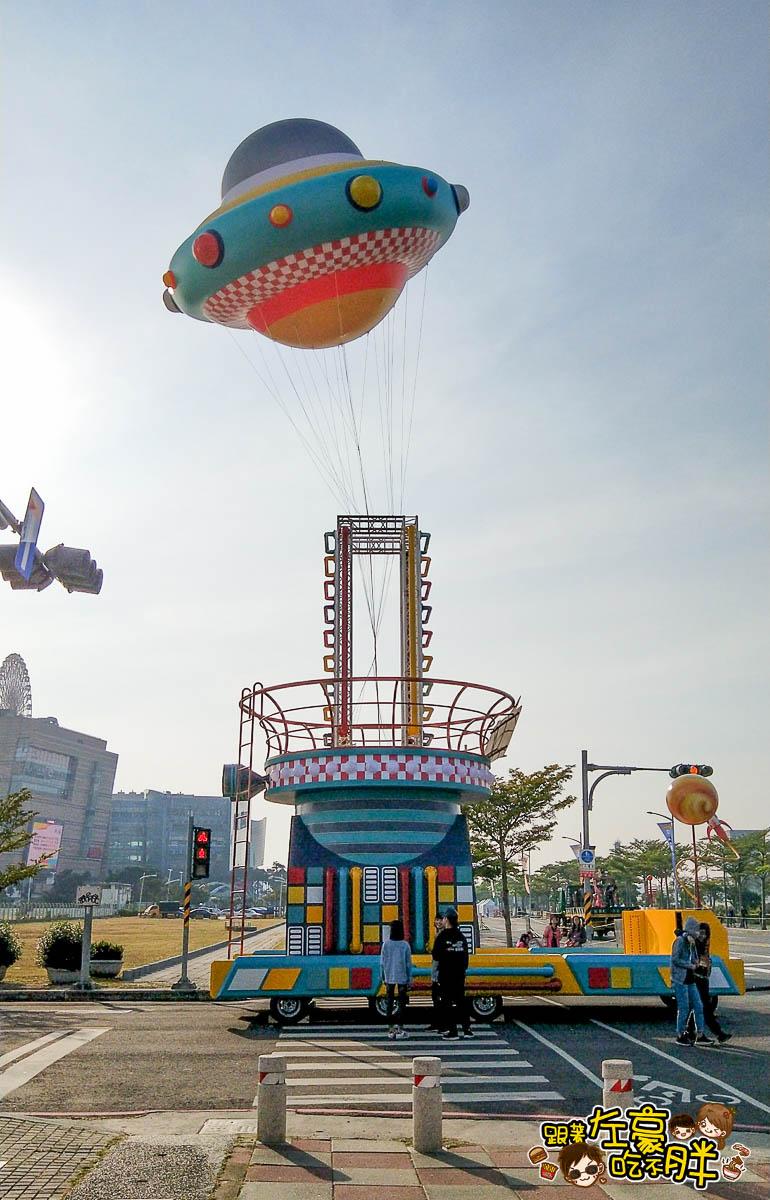 高雄夢時代OPEN大氣球遊行-4