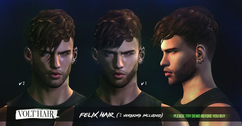 Felix Hair - TeleportHub.com Live!