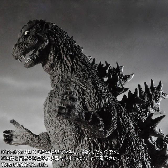 東寶30公分系列 《酒井裕司造型集》哥吉拉(1954) 限定發光版本!ゴジラ(1954) 怪獣王 ゴジラ ショウネンリック限定発光Ver.