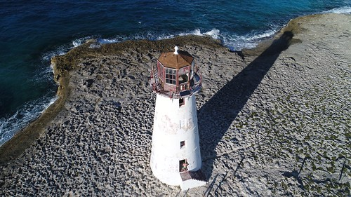 EyeEm Selects Hog Island Lighthouse-Paradise Island, Bahamas Sea High Angle View Beach Day Shadow Bahamas Lighthouse Nassau, Bahamas Nassau Travel Outdoors Ocean Seascape Dronephotography Aerial Photography Aerial Shot Drone Photography